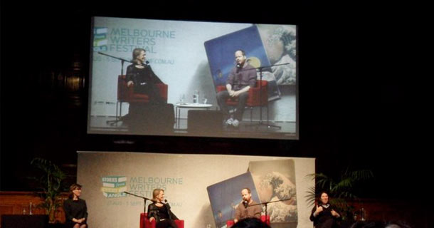 Joss Whedon at the 2010 Melbourne Writers' Festival