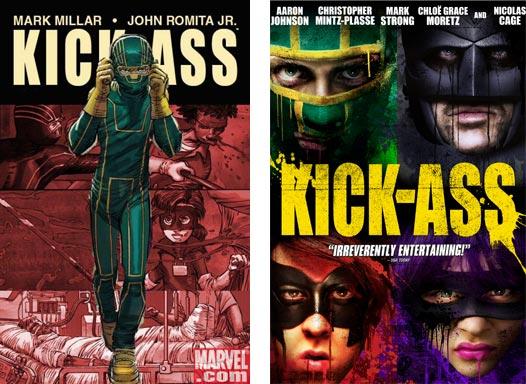 Kick-Ass comic and film